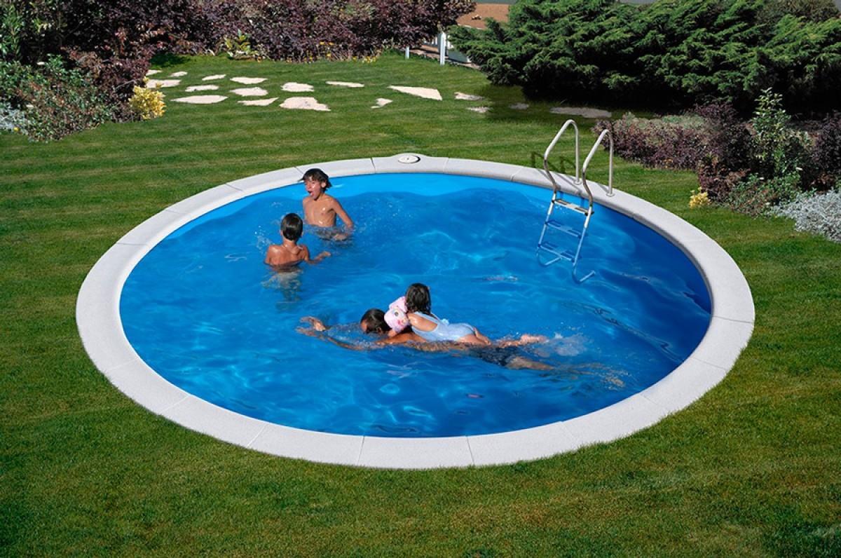 Morrea 420cm oasi blu piscine for Piscina acciaio